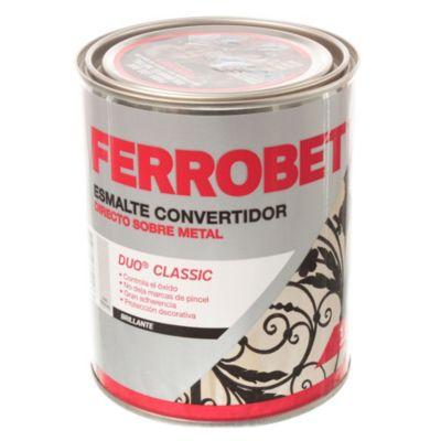 Convertidor ferrobet duo classic gris espacial 1 l