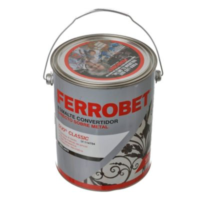 Convertidor ferrobet duo classic negro 4 l