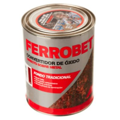 Convertidor de óxido ferrobet rojo 0.5 l