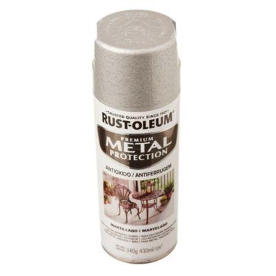 Anticorrosivo stops-rust martillado plata 340 g