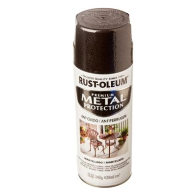 Anticorrosivo stops-rust martillado negro 340 g