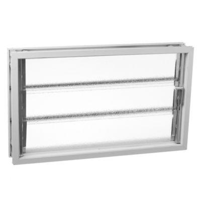 Aireador aluminio blanco 40 x 26 x 8 cm