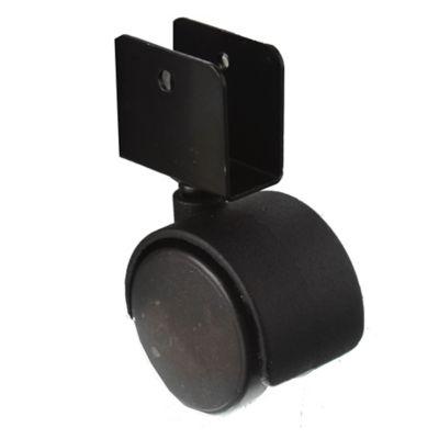 Rueda mueble 50 mm base u 16 mm