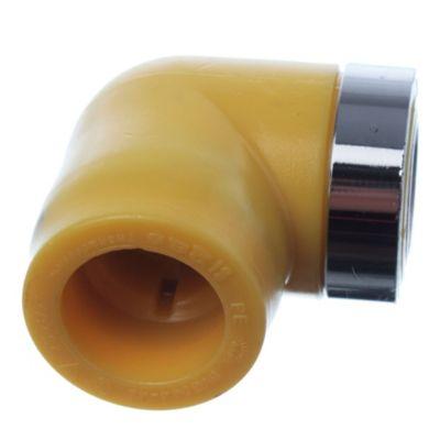 Codo a 90° con rosca hembra de 25 mm x 1/2