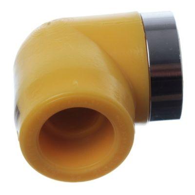 Codo a 90° con rosca hembra de 25 mm x 3/4