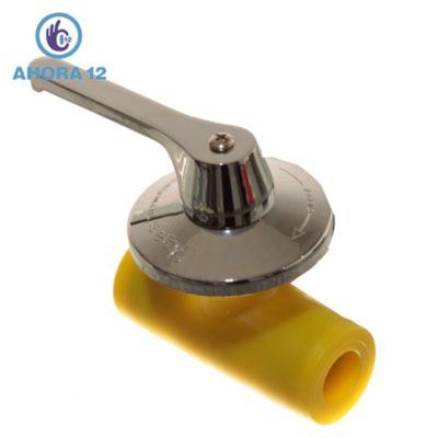 Llave de paso esf rico 25 mm for Llaves para lavamanos sodimac