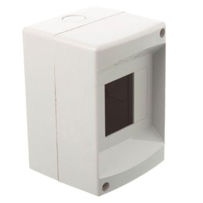 Caja de superficie para 4 módulos sin puerta