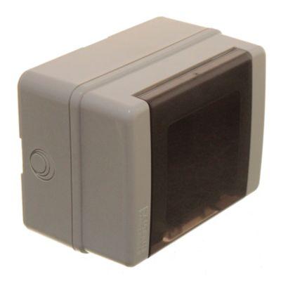 Caja plástica de superficie IP65 4 módulos