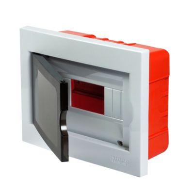 Caja plástica de empotrar IP40 8 módulos