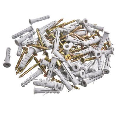 Tarugo sa5 + tornillo tmf 19 x 30 por 50 unidades