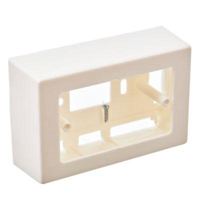 Caja rectangular blanca