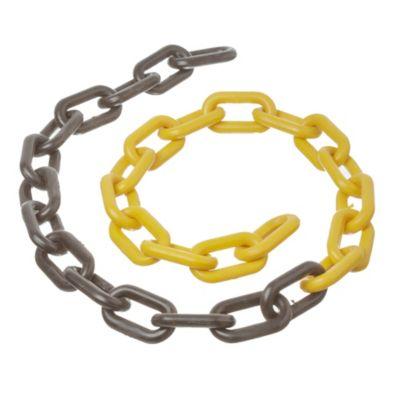 Cadena pl.3.5 x 2.5 cm amarillo - negro