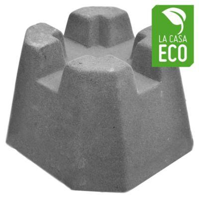 Base para deck universal de cemento 40 x 40 cm