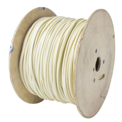 Cable perfil 1 mm2 crema x metro