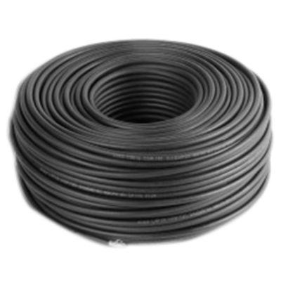 Cable subterráneo 4 x 10 mm2 negro por metro