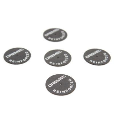 Set de 5 disco recortadores reforzados con fibra de vidrio 3.2 mm