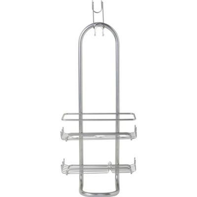 Organizador de ducha simple cromo for Organizador para ducha