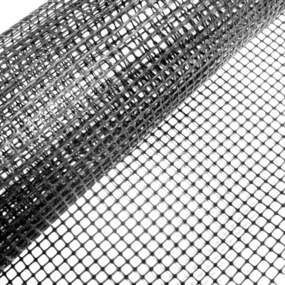 Cerco plástico negro 10 x 10 cm de 1 m