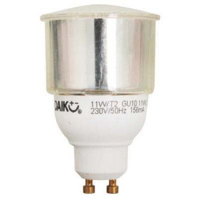 Lámpara bajo consumo dicroica 11w Cálida GU10