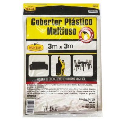 Cobertor protector plástico 3 x 3 m