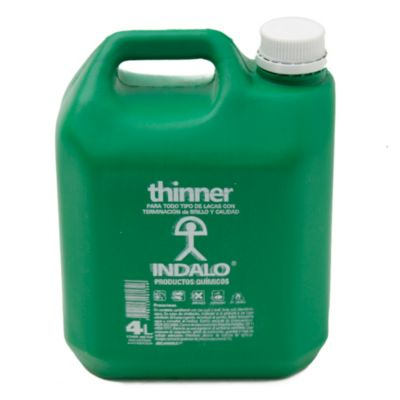 Diluyente thinner calidad media 4 l