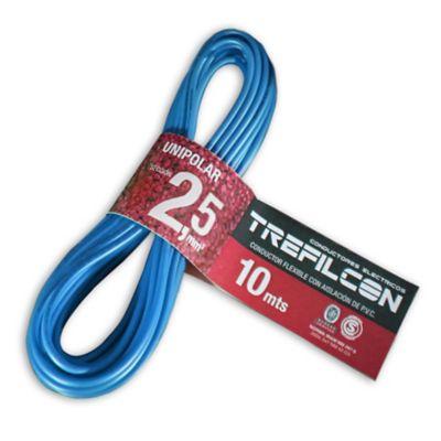 Cable unipolar 2.5 celeste 10 m