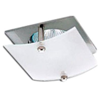 Embutido de techo uno luz andes platil gu10