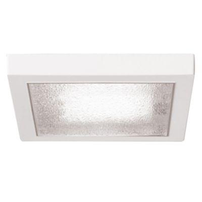 Plafón de techo una luz cuadrado plástico 32w
