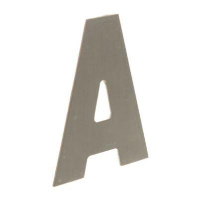Letra -A- Bronce 6 cm