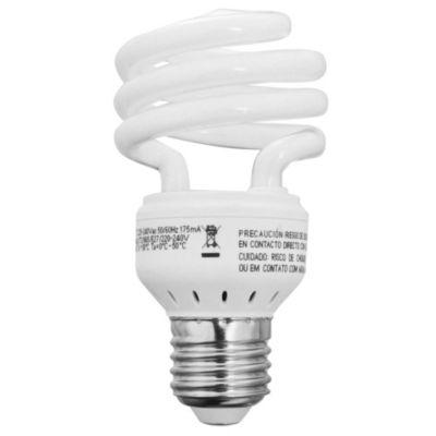 Lámpara Bajo consumo helicoidal 15w cálida E27