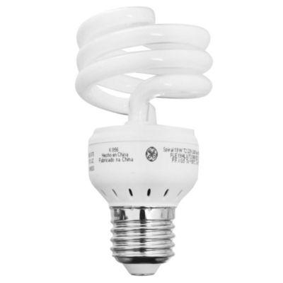 Lámpara bajo consumo helicoidal 19w fría e27