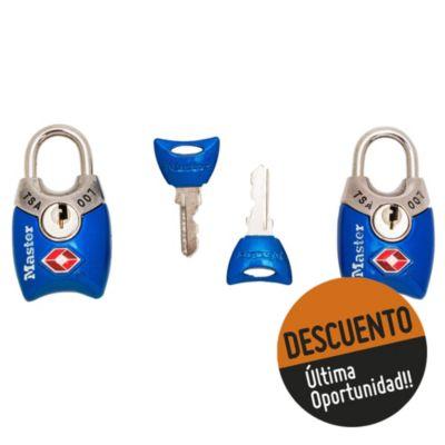 Candado Tsa Maletero mini 2 llaves