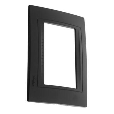Tapa rectangular negro