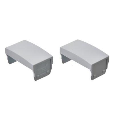 Pack de 2 módulos ciegos blancos
