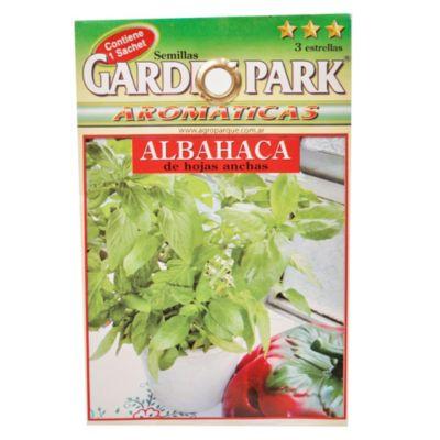 Semilla aromáticas albahaca