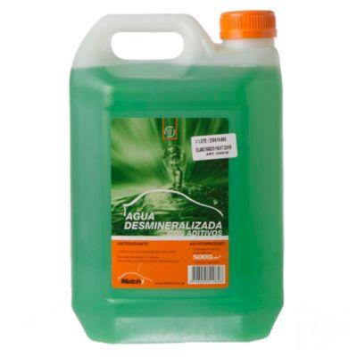 Agua desmineralizada con aditivo anticorrosivo 5 l