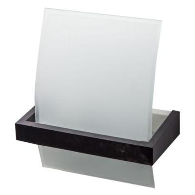 Aplique de pared una luz vidrio curvo y metal n...