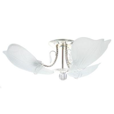 Lámpara de techo colgante portugal 3 lúces e27 + 1 led