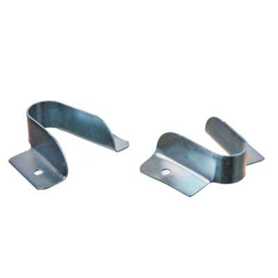 Soporte lateral abierto hierro 5/8 zinc azul por 2 u