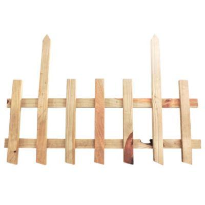 Cerco de madera listón 150 x 9 cm