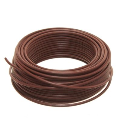 Cable unipolar 2.5 mm2 marrón 30 m