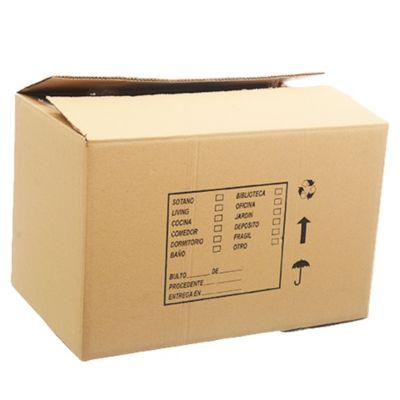 Caja para mudanza 60 x 39 x 39 cm