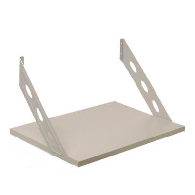 Kit soporte + estante blanco 40 x 52 x 36 cm