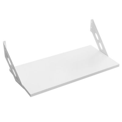 Kit soporte + estante blanco 30 x 60 x 30 cm
