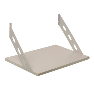 Kit soporte + estante blanco 40 x 60 x 40 cm