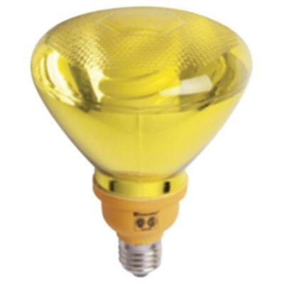 Lámpara bajo consumo par38 25w amarillo E27