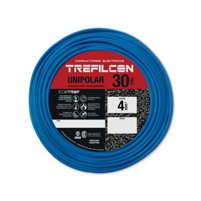 Cable unipolar 4 mm2 celeste 30 m