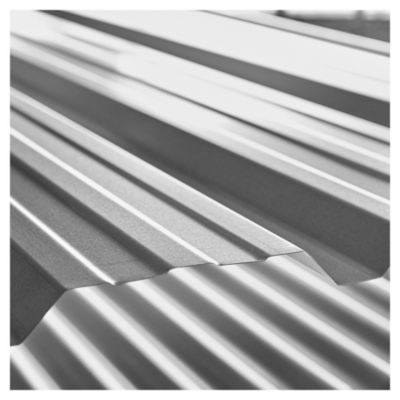 Chapa de cincalum trapezoidal 25 x 3.50 mts