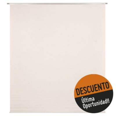Cortina enrollable solar screen 150 x 165 cm