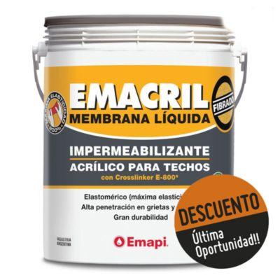 Impermeabilizante para techos fibrado Emacril